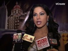 Veena Malik makes a FOOL of herself in front of camera.