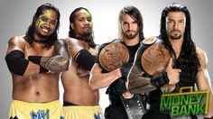 WWE Tag Team Champions Seth Rollins & Roman Reigns vs. The Usos (Kickoff Match)