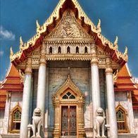 The Marble Temple, Bangkok Bangkok, Thailand, Bangkok, Thailand