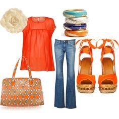 I love orange!