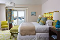 bedroom   Digs Design Company + The Break Hotel