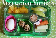 Food, Family, Fun.: Vegetarian Yumbox
