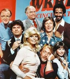 WKRP in Cincinnati...TV Crush #3...Loni Anderson!...  Eric was growing up!  From wild Disc Jockeys: Dr. Johnny Fever and Venus Flytrap to the geeky news director, Les Nessman, how can you go wrong! I'm just sure that with out Loni, this sit-com would have never made it!