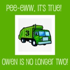 Pee-Eww, A Garbage Truck Party  - great party ideas! (especially love the tshirts!)