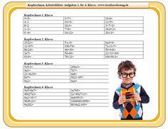 Übungen Mathe Klasse 2 kostenlos zum Download - lernwolf.de | schule ...