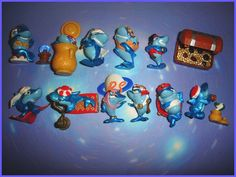 Kinder Surprise Toys. I had the treasure chest!