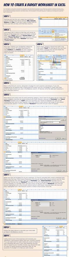The Budget Spreadsheet Bundle include 6 budget spreadsheets - a - google docs budget spreadsheet