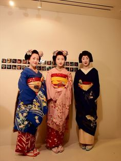 Tokyo Geisha at special exhibition of Larry Clark at United Arrows flag ship shop.