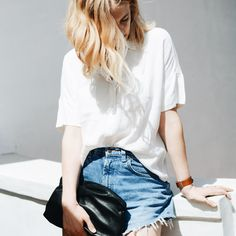 The perfect denim shorts! I just fell in love with these: http://asos.do/MwmWa7