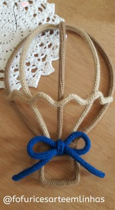 #Balão #tricotin Wire Crochet, Crochet Toys, Wire Crafts, Diy And Crafts, Chain Headpiece, Spool Knitting, Goth Home Decor, 1st Boy Birthday, Bijoux Diy