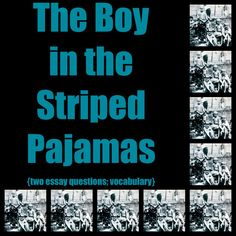 003 Boy in the Striped Pajamas BOOK AND FILM