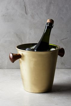 Woodnote Ice Bucket #anthropologie