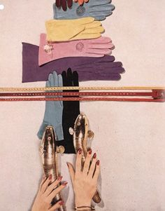 Composition: Gloves, by Diana Vreeland, Harper's Bazaar 1951.