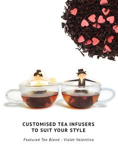 These novelty tea infusers make a perfect door gift or wedding favor. Customise the characters to suit your style.  #favors #doorgifts #bride #groom #weddingideas #weddingfavors #tea #gifts