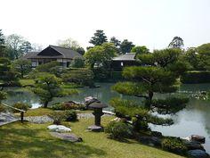 Katsura Imperial Villa in spring