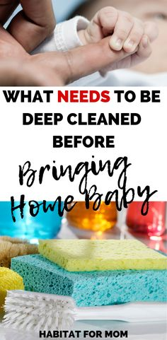 What needs to be deep cleaned before bringing home baby care for new parents Parenting ideas Pregnancy and birth tips Before Baby, After Baby, New Parents, New Moms, Baby Arrival, Pregnant Mom, First Time Moms, Pregnancy Tips, Pregnancy Ultrasound