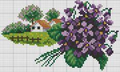 Пейзажи природа(вышивка)цветочный календарь. Обсуждение на LiveInternet - Российский Сервис Онлайн-Дневников