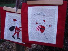 tallgrass prairie studio: Christmas Is Coming...A Quick Tutorial. kids art appliqué