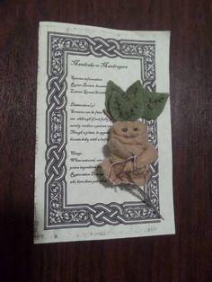 Felt Mandrake by jenleahlynn on Craftster