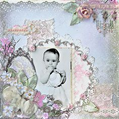 Happy Birthday Baby - Scraps Of Darkness - Scrapbook.com