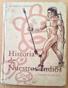 Vintage 1974 Puerto Rico Taíno textbook Historia by IslaDelEncanto, $25.00