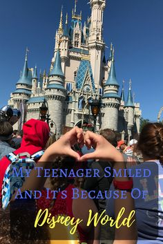 Disney World is a magical place, and it's even more magical because it gets my teenager to smile.