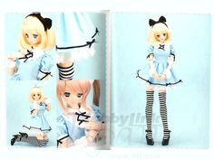 Example from Sewing book first Maid clothes for Dollfie Dream dolls.