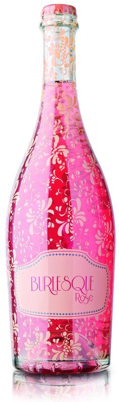 I don't drink but I love this pink bottle! :o) ~ Celebrate in STYLE rose pink champagne Pretty In Pink, Pink Love, Perfect Pink, Wine Packaging, Packaging Design, Color Rosa, Pink Color, Vintage Pink, Tout Rose