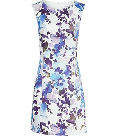 Reiss Juna Printed Dress