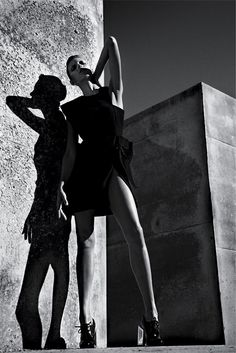 "ANJA RUBIK IN ""MODERNISM IS THE MESSAGE"" FOR T MAGAZINE 