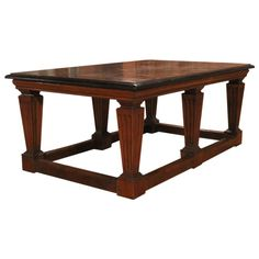 Italian Center Table | From a unique collection of antique and modern center tables at https://www.1stdibs.com/furniture/tables/center-tables/