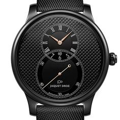 he Grande Seconde is to Jaquet Droz what the Lange One is to A. Lange & Söhne as the brand's Swatch, Omega Watch, Swiss Watch, Accessories, Studs, Watches, Jewelry Accessories