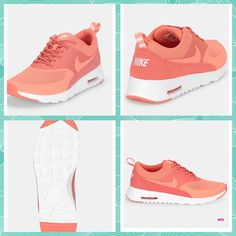 Coral Nike trainers