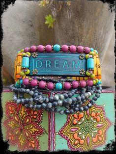 Dream Bracelet by Gabriela Pomplova