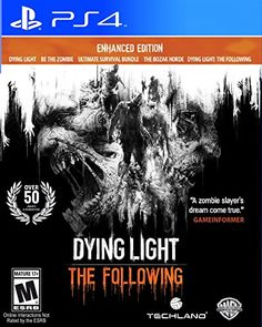 Dying Light The Following  Enhanced Edition  PlayStation 4 ** Find out more about the great product at the image link. Note:It is Affiliate Link to Amazon.