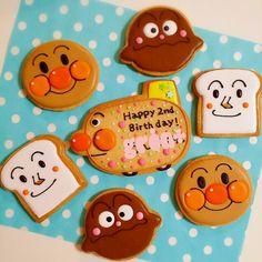 プレゼント用♪アンパンマンのアイシングクッキー。   ペコリ by Ameba - 手作り料理写真と簡単レシピでつながるコミュニティ -