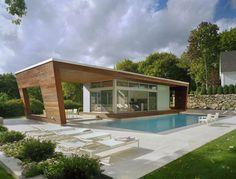 modern pool house - Google-Suche