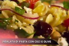 Ricetta Insalata di pasta con ceci e olive - Cucina con Buddy
