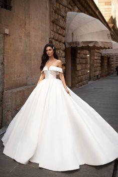 Wedding dresses in Austin, TX at Melange Bridal. Plain Wedding Dress, Royal Wedding Gowns, Princess Wedding Dresses, Elegant Wedding Dress, Perfect Wedding Dress, Dream Wedding Dresses, Bridal Dresses, Bridesmaid Dresses, Gown Wedding