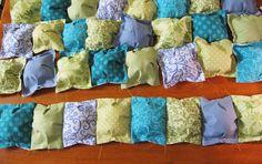 Diy puff baby bedding. Love this comforter pattern best.