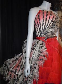 Alice in Wonderland Red Queen Um dress