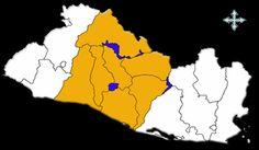 mapa zona central de el salvador