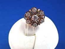 Beautiful Diamond 14K Gold Vintage Engagement/Right Hand Ring