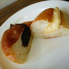 あんパン、クリームパン