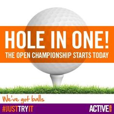 Who's excited about the start of The Open Championships today? #golf
