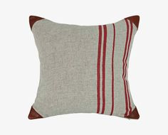 Folja Stripes Pillow - Red