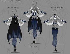Blue fantasy design by nahemii-san on deviantart fantasy dress, fantasy outfits, fantasy Manga Clothes, Drawing Clothes, Character Outfits, Character Art, Kleidung Design, Fantasy Dress, Fantasy Outfits, Anime Dress, Dress Drawing