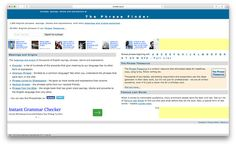 The Phrase Finder is a handy site for English language teachers who enjoy teaching idioms, expressions, and famous English phrases. This site will inspire you to teach your students more than just a common English phrase or expression. Where did the expression come from and how has its meaning changed over the years? Browse through …