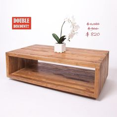 """Oh boy!! Daily Double Discount feature: Artek Coffee Table on sale from $1,380down to $966 , double down to $820! Textured solid reclaimed teak wood. Functional, beautiful & full of character. Dimensions: 47.25"""" x 27.5"""" x 15.5"""". Send DM now! Buy by DM, phone, online or in person. Only a few remaining. Use promo code 30ZENYE at checkout. #endofseason #sale #deepdiscounts #doublediscount #greatdeals #teak #interiordesign #furniture #sustainableliving #coffeetables #rustic #teakcoffeetable… Teak Coffee Table, Teak Wood, Sustainable Living, Floating Nightstand, Sale Items, Events, Rustic, Interior Design, Furniture"""