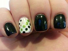 St.  Patrick's nails Birthday Nail Art, Nail Stuff, Holiday Nails, Mani Pedi, Toe Nails, Nails Inspiration, Beauty Nails, How To Do Nails, Pretty Nails